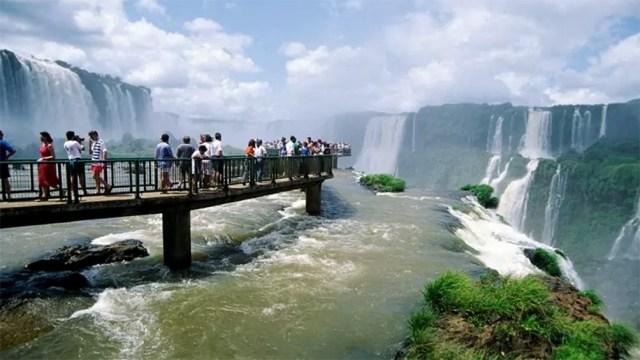 Las Cataratas del Iguazú están casi a pleno: un 90% de ocupación.