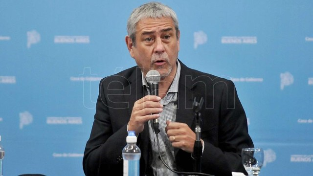 El ministro de Desarrollo Territorial y Hábitat, Jorge Ferraresi.