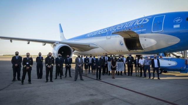 """El vuelo a Moscú será directo y en calidad de lo que se denomina """"ferry"""""""