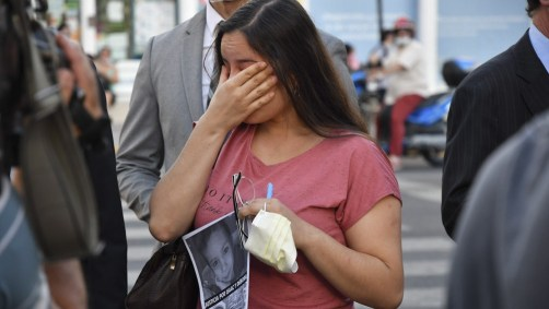 Los familiares piden justicia por la muerte del niño.