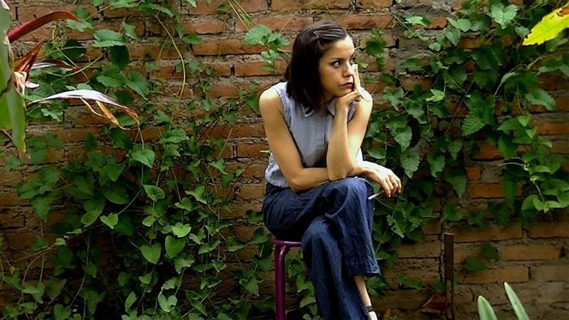 La escritora María Belén Aguirre.