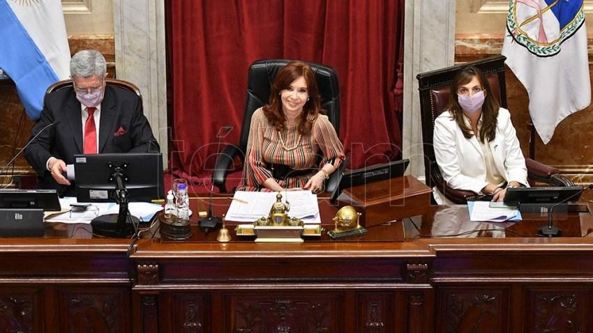 El proyecto de legalización del aborto, debatido en el Senado.