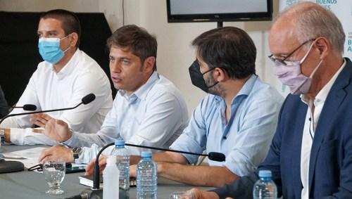 Bianco participó de la conferencia de prensa con el gobernador Kicillof y su par de Salud, Daniel Gollan.