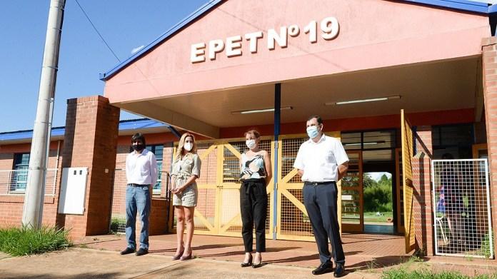 La perforación de agua potable beneficiará a la escuela Escuela Provincial de Educación Técnica número 19