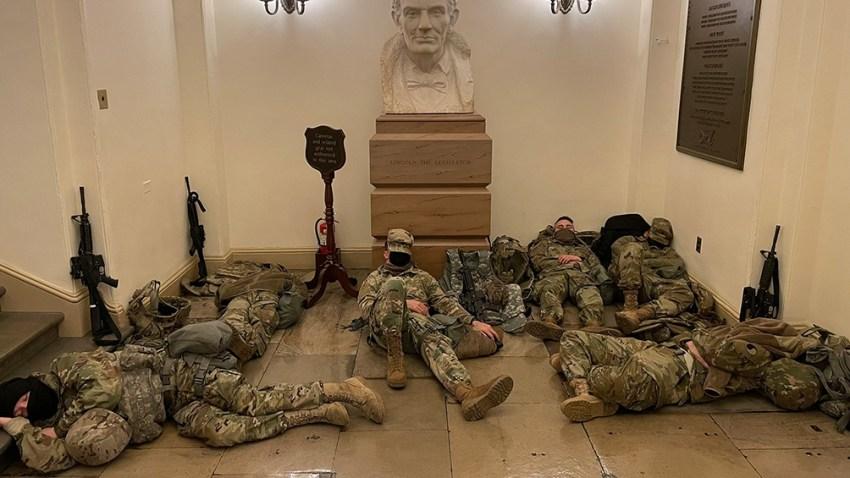 El Departamento de Defensa autorizó el uso de armamento por parte de los 15.000 miembros de la Guardia Nacional desplegados en Washington