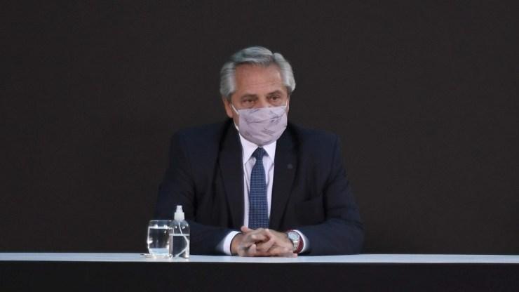 """Alberto Fernández: """"Hoy estamos haciendo una mejor sociedad; parece una frase, pero es un paso inmenso y el resultado de una lucha colectiva""""."""