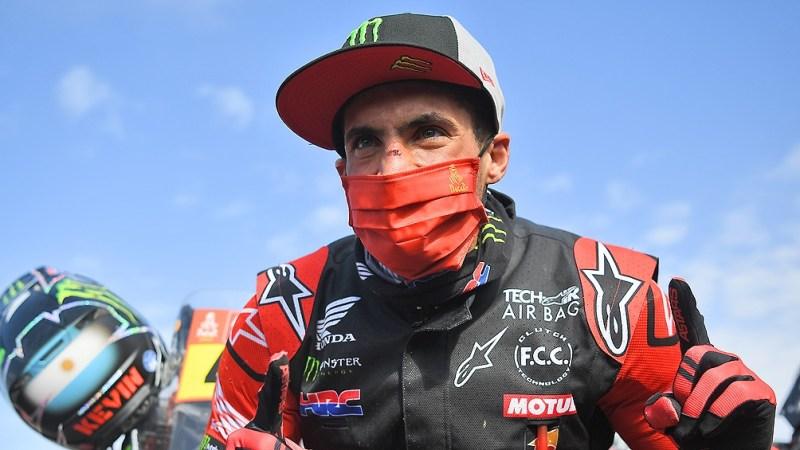Benavides se convirtió en el primer argentino en ganar en motos en la historia del Dakar.