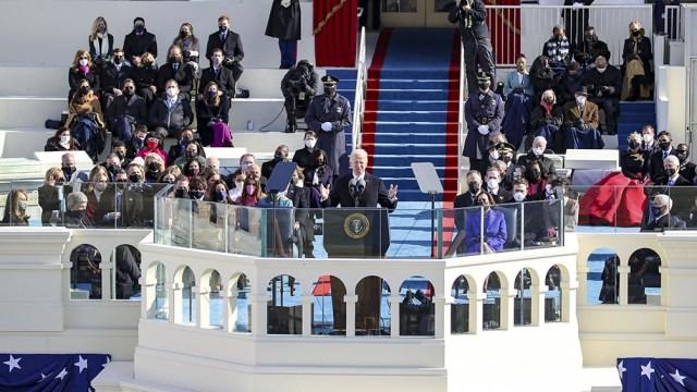 """""""Vamos a garantizar mejor acceso a una mejor educación"""", dijo Biden en su discurso."""