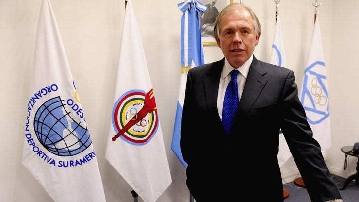 Gerardo Werthein, titular del Comité Olímpico Argentino.