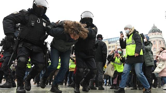 En Moscú, las protestas siempre son más multitudinarias