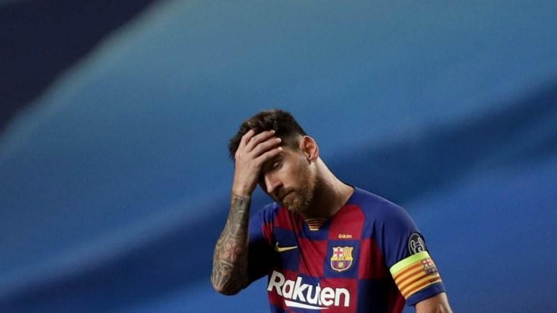 Messi complicado por una fiesta en su casa.
