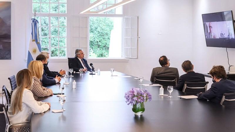 """Resultado de imagen para Alberto Fernández: """"El desarrollo de las empresas es el desarrollo del país"""""""