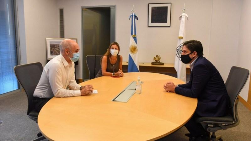 Resultado de imagen para Trotta y Rodríguez Larreta se reunieron para revisar los protocolos de vuelta a las clases en CABA