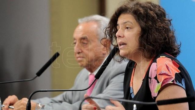 Carla Vizzotti.