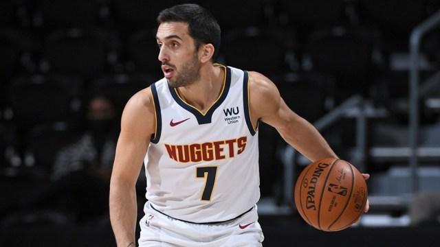 Campazzo tuvo una nueva buena actuación en la NBA junto a Denver