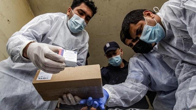 La ANP envió 2.000 dosis de la vacuna Sputnik V donadas por Rusia