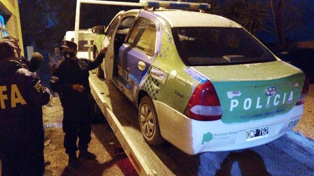 El hallazgo de más de 30 rastros fueron levantados en un allanamiento en el destacamento policial de Teniente Origone