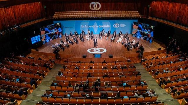 """Funes de Rioja habló de """"las políticas de Estado de largo plazo"""" que se deberán discutir en el marco del Consejo Económico y Social"""""""
