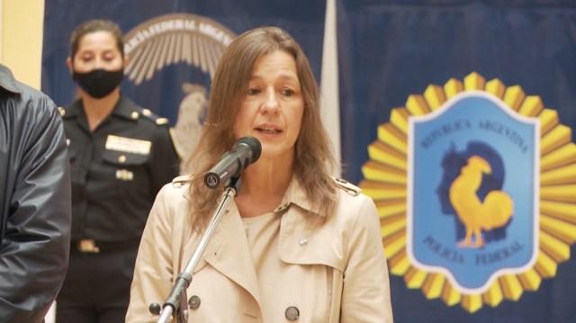 La ministra Frederic y el secretario de Seguridad, Eduardo Villalba se reunirán con los jefes de las fuerzas federales.