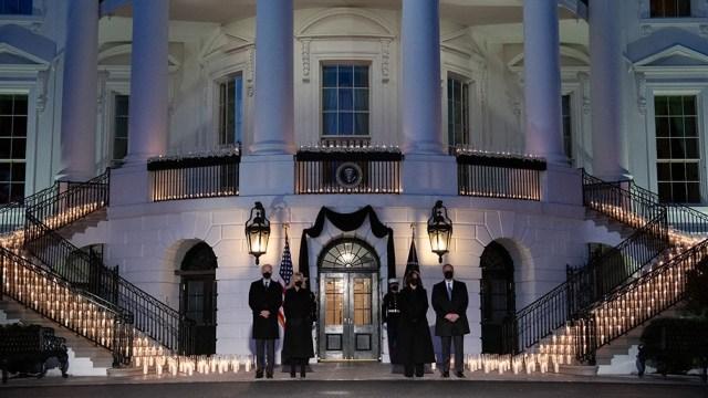 Homenaje de Biden en la Casa Blanca.