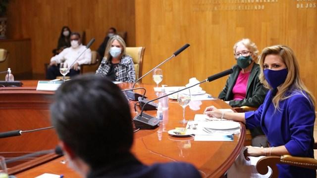 La primera dama forma parte de la comitiva oficial del presidente Alberto Fernández en México.