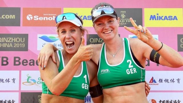 Karla Borger y Julia Sude anunciaron que van a boicotear el certamen debido a la prohibición de jugar con bikini.