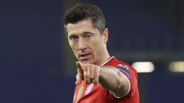 Lewandowski, abrió el camino de la goleada del Bayern en Roma ante Lazio (Foto: @FCBayern)