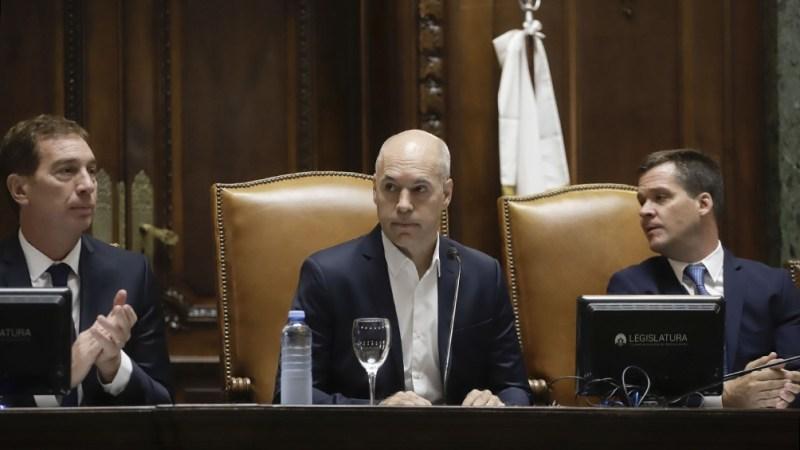 """""""Como sociedad, tenemos un enorme futuro si dejamos atrás esas divisiones que tan mal nos hacen"""", postuló Rodríguez Larreta."""