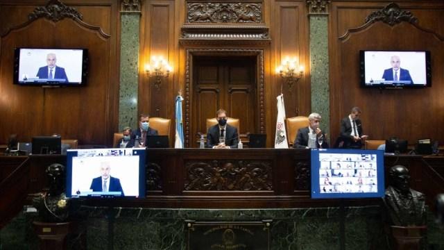 La legislatura porteña aprobó un proyecto para elevar a 140 metros la altura permitida para futuras construcciones en un predio de Puerto Madero