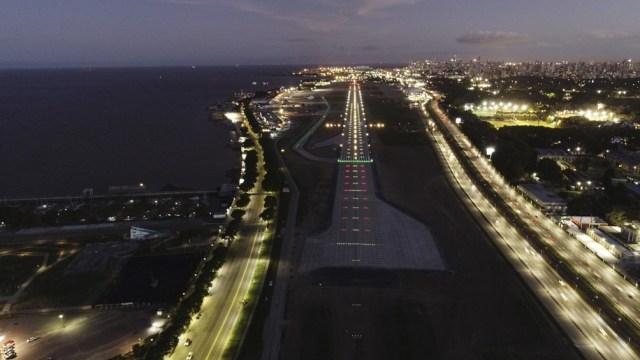 En los primeros siete días hubo 280 vuelos de cabotaje y 10 vuelos internacionales.