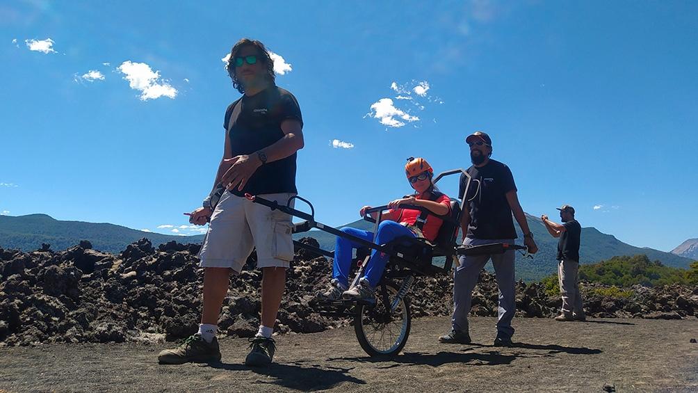 """""""Permitirá incorporar a las experiencias turísticas a todo el mundo"""" dijo el creador de """"ChampaBike"""", Alejandro Piccione."""