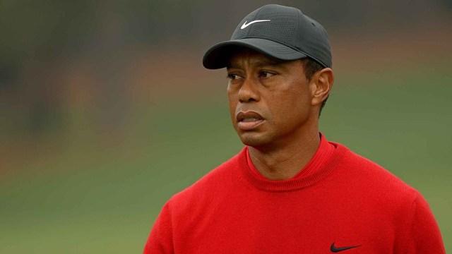 El golfista sufrió fracturas en la tibia y el peroné de la pierna derecha