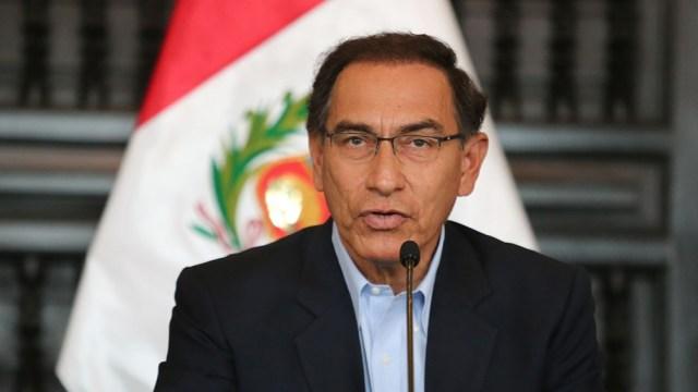 Expresidente peruano, Martín Vizcarra