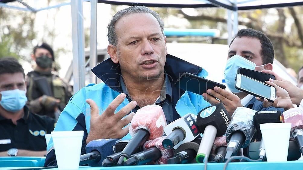 Berni: «Todo indica que el accidente de Meoni fue por acumulación de agua en la ruta»