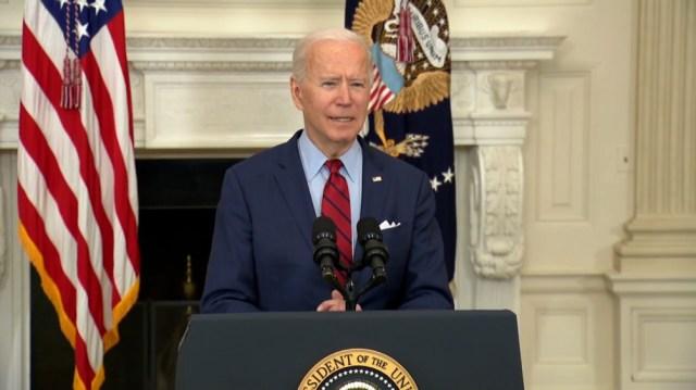 """""""Rezo para que el veredicto sea el correcto"""", dijo Biden"""