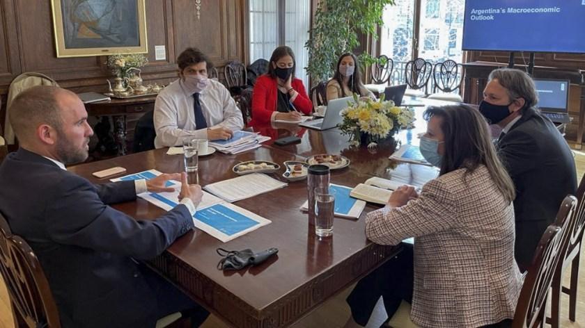 El ministro de Economía, Martín Guzmán, aseguró que la Argentina está avanzando en un acuerdo para renegociar la deuda de US$ 45.000 millones con el Fondo Monetario Internacional (FMI)