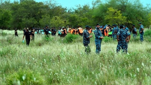 El operativo de búsqueda de Tehuel fue suspendido este jueves por las intensas lluvias que se registran en el conurbano bonaerense.