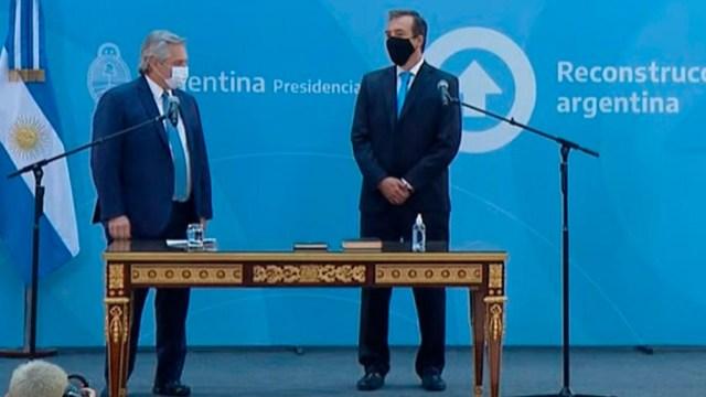 Soria reemplaza a Marcela Losardo, quien renunció días atrás luego de haber asumido la cartera de Justicia con el inicio de la gestión de Fernández.