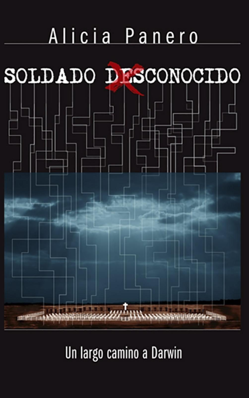 """Panero es autora del libro """"Soldado desconocido""""."""