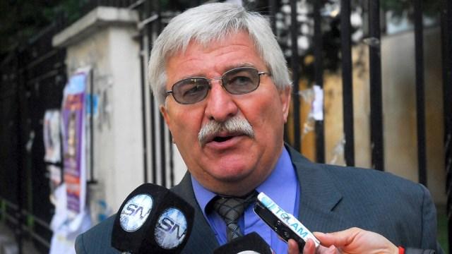 """Rubén Carrazzone, en la audiencia anterior del 31 de marzo último, aseguró que """"jamás"""" fue violento con su esposa."""