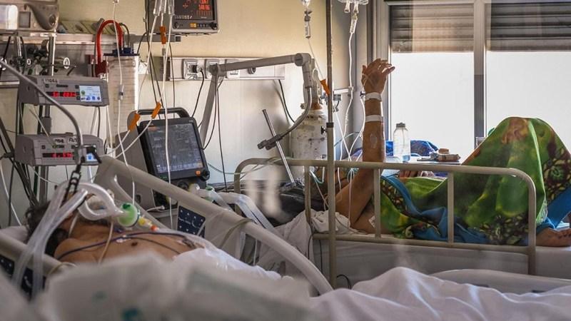 2.822 personas se encuentran internadas, de las cuales 601 están con asistencia respiratoria mecánica