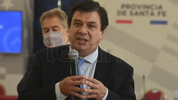 Claudio Moroni, ministro de Trabajo, fue otro de los que destacó lo hecho por Alberto Fernández