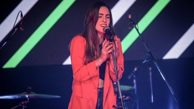 Rocío Cabrera se presenta en Palermo