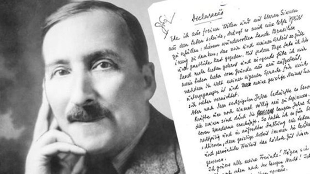 Zweig nació en Viena en 1881.