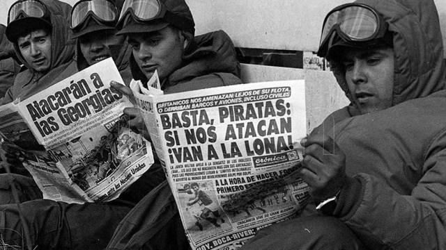 """A los 18 años, mientras hacía el Servicio Militar Obligatorio en Córdoba, """"una mañana nos formaron en la plaza de armas y nos dijeron que las Malvinas habían sido recuperadas"""""""