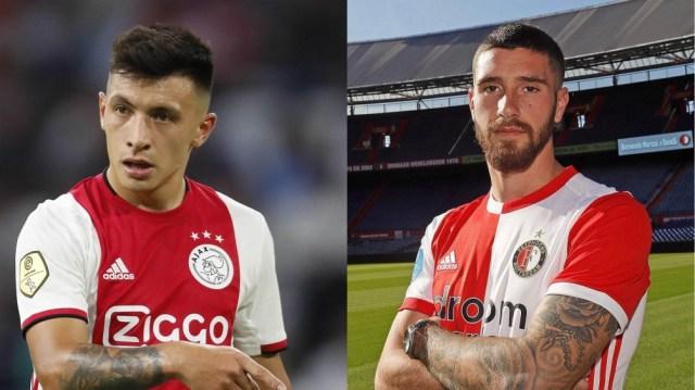 Lisandro Martínez, en el Ajax, y Marcos Senesi, en el Feyenoord, están consolidados en el fútbol neerlandés.