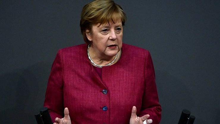 Merkel aseguró que Alemania está comprometida a reducir las emisiones contaminantes en un 55% para 2030