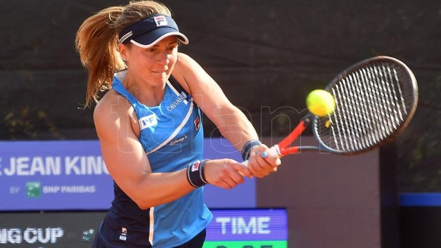 Nadia Podoroska, la única mujer argentina en llegar al torneo.