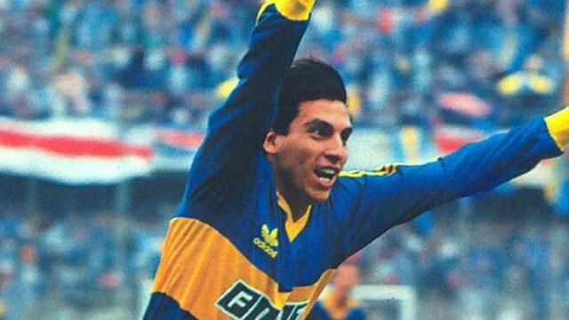 Graciani en Boca compartió delantera con Jorge Rinaldi y Jorge Comas, también con Gabriel Batistuta y Diego Latorre.