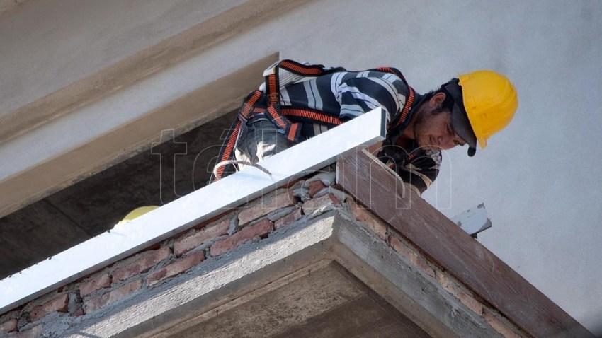 La construcción suma siete los meses consecutivos con resultados positivos en el cotejo interanual.